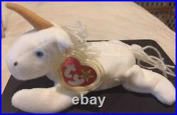 1994 RARE/RETIRED TY MYSTIC Beanie Baby With ERRORS Style #4007