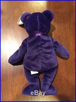 1997 Ty Beanie Baby Babies Princess Diana Bear Rare China