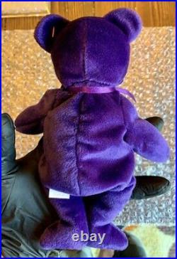 1997 TY PRINCESS DIANA Beanie Baby Vintage Rare Original