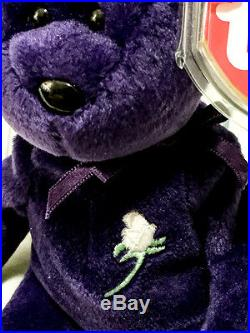 1997 Ty Princess Diana Beanie Baby. Rare Edition. Made in Indonesia