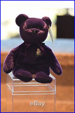 1st Edition Princess Diana Beanie Baby RARE Indonesia 1997