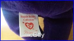 1st Edition RARE Princess Diana Beanie Baby