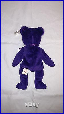 1st Edition Rare 1997 TY Princess Diana Beanie Baby