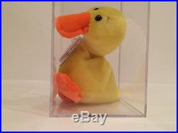 1st Gen Ty Wingless Quacker MWMT MQ Authenticated Ty Beanie Baby EXTREMELY  RARE 8897696c8dd