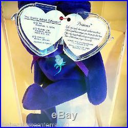 (2) Princess Diana Beanie BabiesAuthenticatedSuper Rare, The Ghost Version