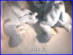 2 Ultra Rare Peanut Beanie Baby PVC pellets Early with Many errors