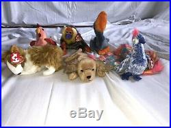 60 Ty Beanie Babies Collection 1996-2000 All With Tag Errors Rare All With Tags