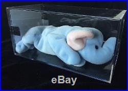 AUTHENTICATEDPeanut RARE TY Beanie Babies Baby