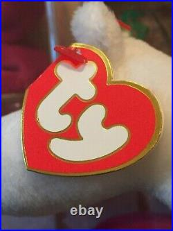 Authentic Rare MAGIC the Dragon 3rd/2nd Generation Ty Beanie Baby MWMT-MQ