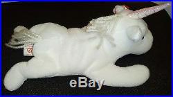 Authentic Ty Beanie Baby Mystic Unicorn Iridescent Rare Retired Excellent