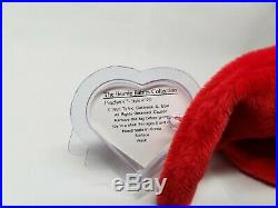 Authentic Ty Beanie Baby Pinchers the Lobster Rare 1st / 1st Gen Tag MWMT-MQ