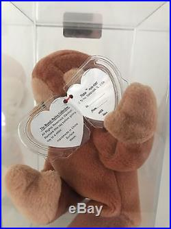 Authenticated 3rd 1st Gen Ty NANA German MWMT MQ Beanie Baby Extremely Rare