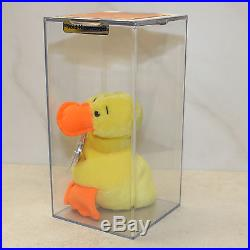 Authenticated Quacker (RARE Wingless) Near MWMT 2nd/1st gen Ty Beanie AP 100