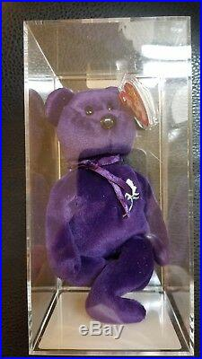 Authenticated RARE 1997 Ty Beanie Baby 2nd Edition Princess Diana Beanie Baby