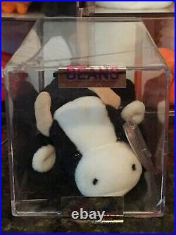 Authenticated Rare DAISY the Cow 3rd/1st Generation Ty Beanie Baby MWMT-MQ