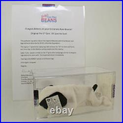 Authenticated TY Beanie Baby SPOT the Dog (PRE 1st Gen UK Hang Tag) Ultra Rare