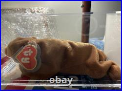 Authenticated Ty 1st Gen UK Sticker and Korean BROWNIE Ultra Rare MWMT MQ