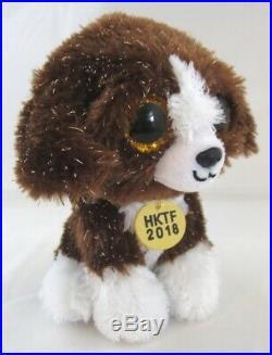 Authenticated Ty Beanie Baby 2018 HONG KONG TOY FAIR Dog MWMT MQ Ultra Rare