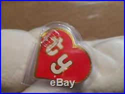 Authenticated Ty Beanie Baby Rare Chilly 1st/1st Gen Hang Tush Tag Bear