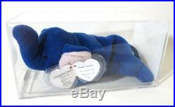 Authenticated Ty KOREAN 3rd / 1st Gen ROYAL BLUE PEANUT Ultra Rare MWMT MQ