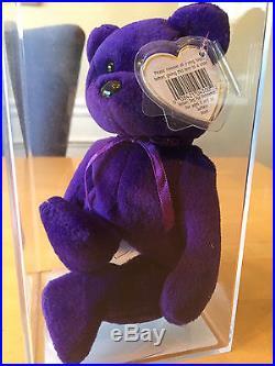Authenticated Ty Princess No Rose ODDITY MWMT MQ Gorgeous Rare Beanie Baby