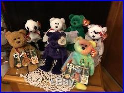 Beanie Babies 7 Rare OnesPrincess Diana, Glory, Valentino, Fortune & More