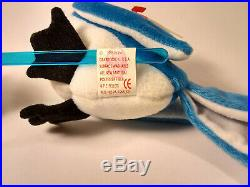 Beanie Babies'Rocket' ULTRA RARE tush tag out of print Vintage 1997