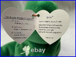 Beanie baby Erin the bear, MINT condition, Rare, Retired