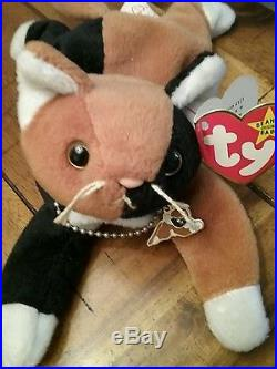 c69a3994f84 Beanie baby-VERY RARE CHIP WITH NECKLACE