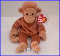 Bongo Beanie Baby Rare Monkey