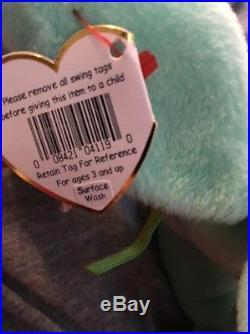 Brand New Rare NWT ty Beanie Babies Hippity Hoppity Floppity With Error Tags