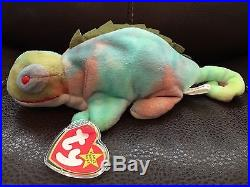 COLLECTORS 1997 NEW Beanie Baby ty IGGY! Rare