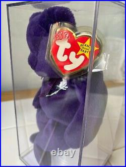 Certified 1st Charity Beanie Baby Princess Diana 1997 RARE Retired. 9