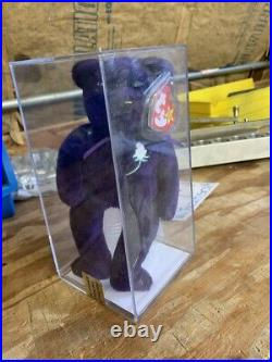 China PVC Beanie Baby Princess Diana Bear Tiny Version Super Rare Authenticated