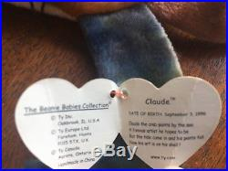 Claude (1996)The Crab. Ty Beanie Baby. Rare. Authentic. Retired. Vintage. Tie dyed