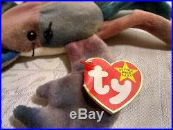 Claude the Crab Rare Original Beanie Babies Vintage 1996