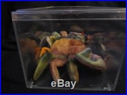 Claude the Crab Ty Original Beanie BabyRAREAS SEEN ON MSN