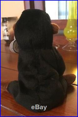 Congo, Gorilla 96 TY Beanie Baby, authentic, rare, retired, mint condition