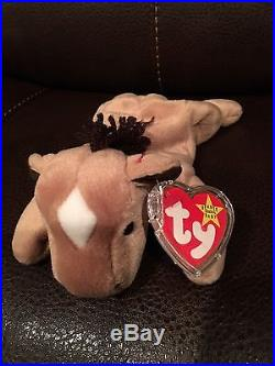 Derby the Horse' Ty Beanie Baby Retired 1995 NEW Rare