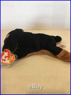 346e640900c Doby The Doberman Pinscher Dog Ty Beanie Baby Style 4110. Rare