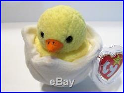 Ty Beanie Baby Eggbert The Chick *all Tags Attached Excellent Condition 1998