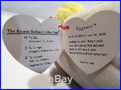 TY Beanie Babies Eggbert the baby chick Retired