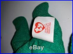 Erin The Bear-McDonald's Ty Beanie Baby With Rare Errors