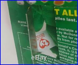 Erin the Bear McDonald's Ty Beanie Baby Rare Errors Ronald McDonald House