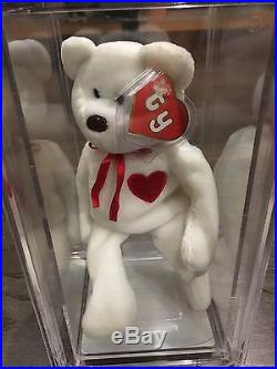 7a6613c4f1c Extremely Rare! 2nd Gen Valentino Embroidered MWMT MQ Ty Beanie Baby ...