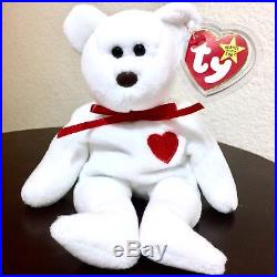 e67b3f13822 Extremely Rare MWMT 1993 TY Valentino Beanie Baby with Swing Tag Errors PVC