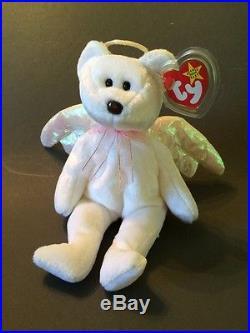 Halo) RARE 1998 TY Beanie Original Baby with P. E. Pellets  8f3f637e9bf