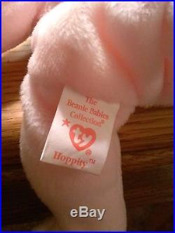 Hippity Hoppity & Floppity Beanie Baby RARE With ERRORS