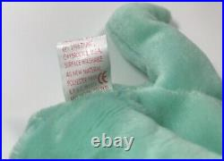 Hippity Ty Beanie Baby With Errors, Rare 1996 With Pvc Pellets