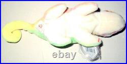 IGGY THE IGUANA Ty 4TH GEN BEANIE BABY, 1997 PVC RETIRED ERRORS VERY RARE